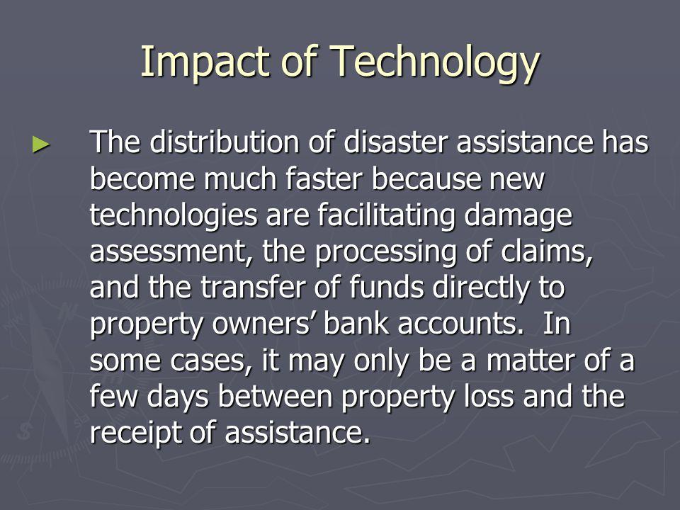 Impact of Technology