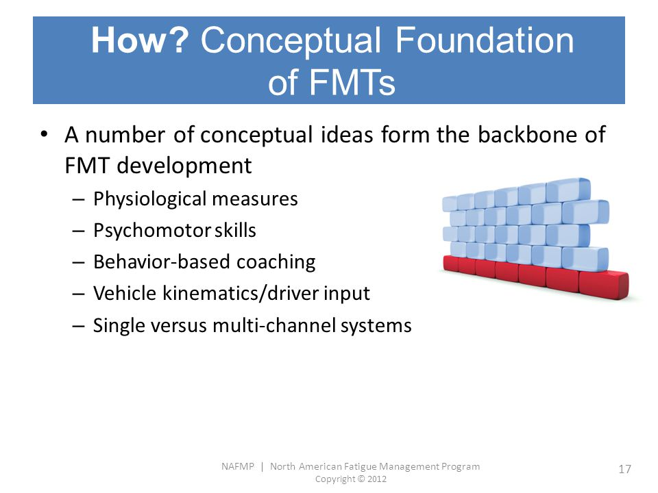 How Conceptual Foundation of FMTs
