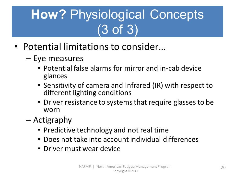 How Physiological Concepts (3 of 3)