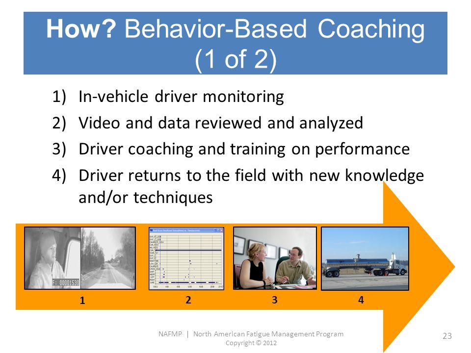 How Behavior-Based Coaching (1 of 2)