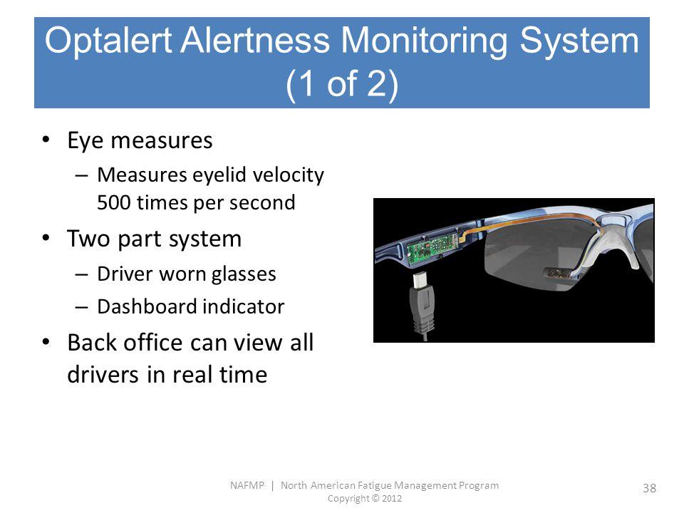 Optalert Alertness Monitoring System (1 of 2)