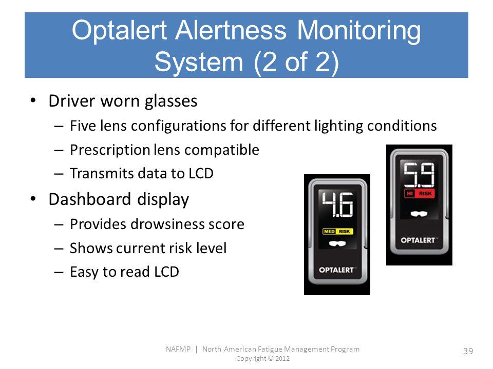 Optalert Alertness Monitoring System (2 of 2)