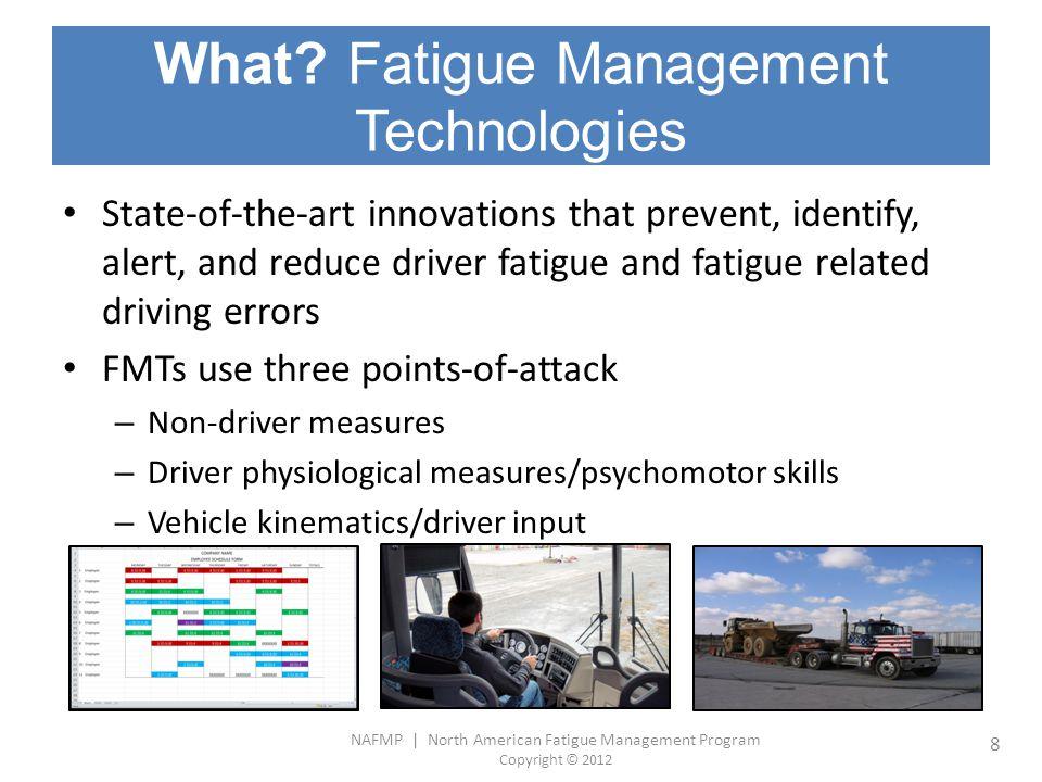 What Fatigue Management Technologies