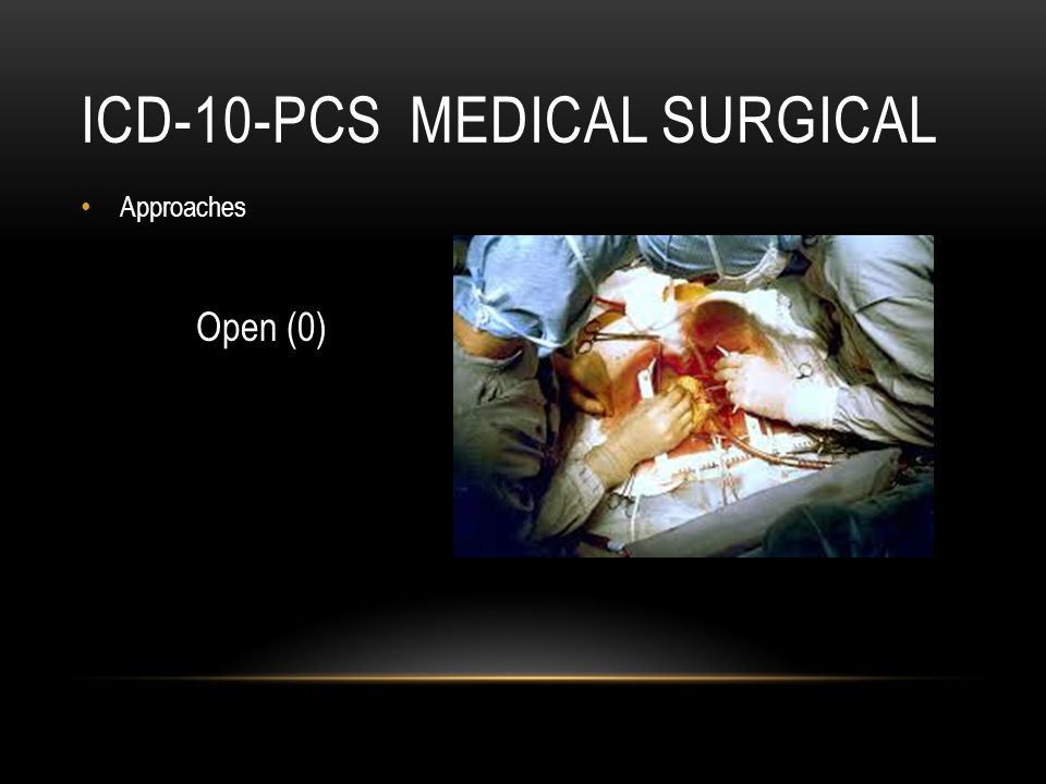 ICD-10-PCS Medical Surgical