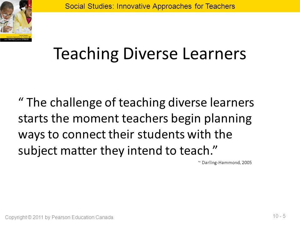 Teaching Diverse Learners