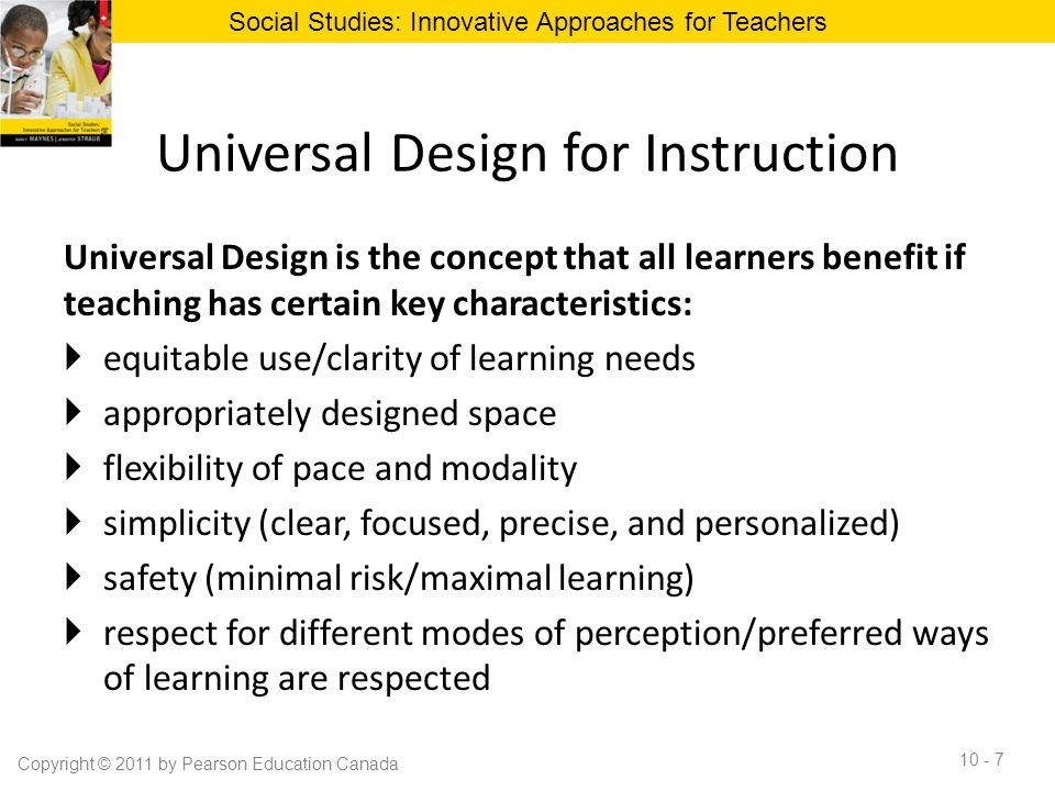 Universal Design for Instruction