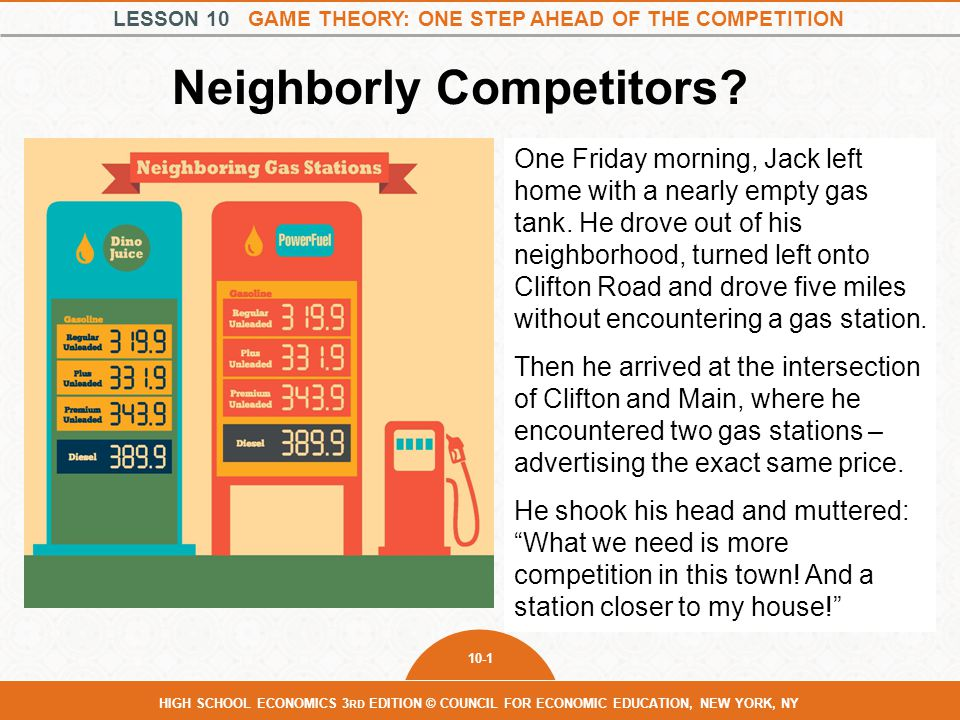 Neighborly Competitors
