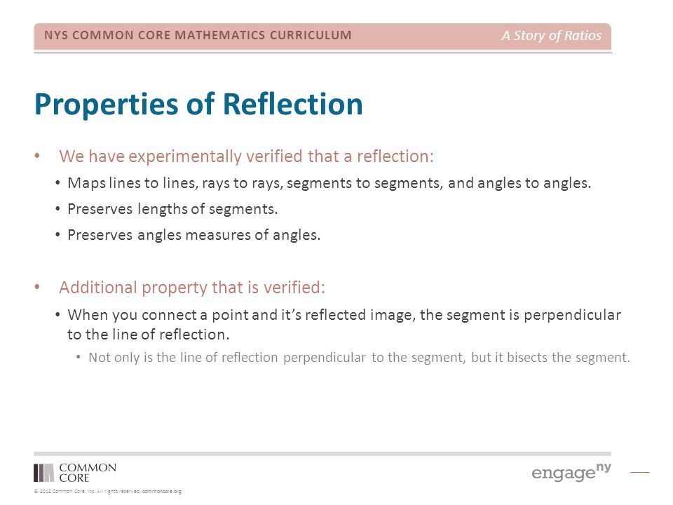 Properties of Reflection