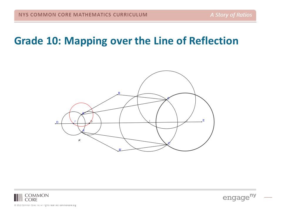 Grade 10: Mapping over the Line of Reflection