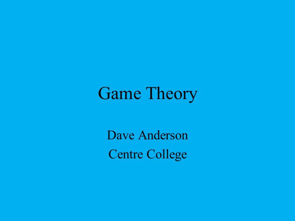 Dave Anderson Centre College