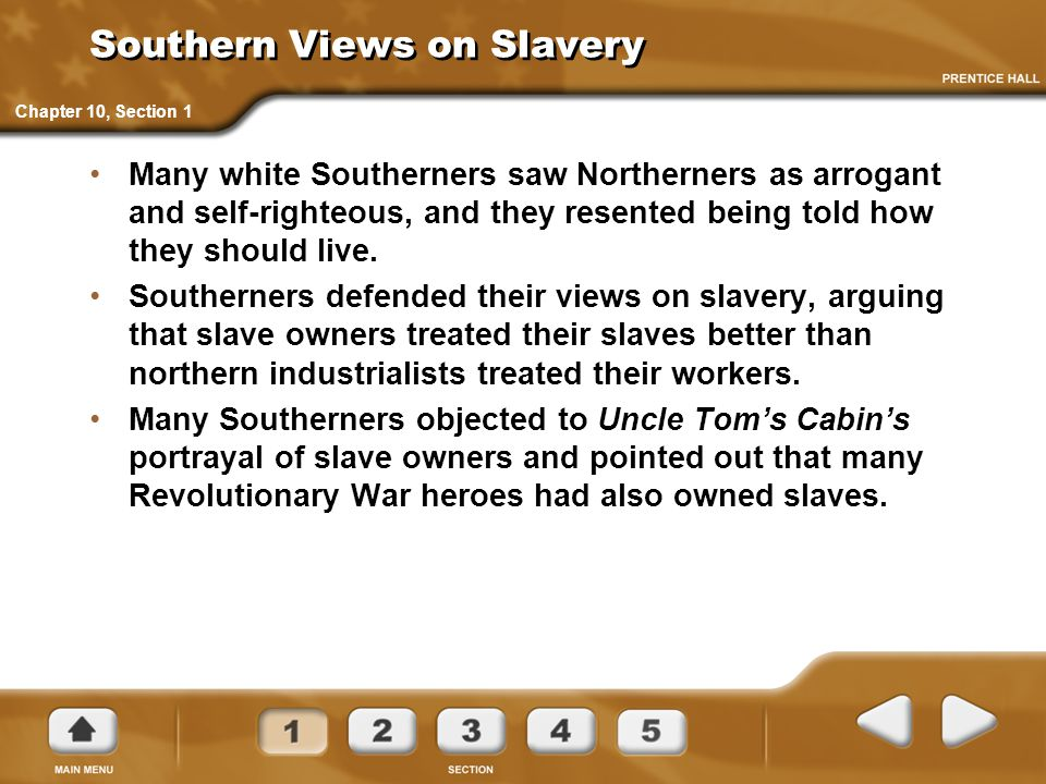 Southern Views on Slavery
