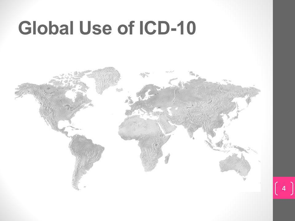 Global Use of ICD-10