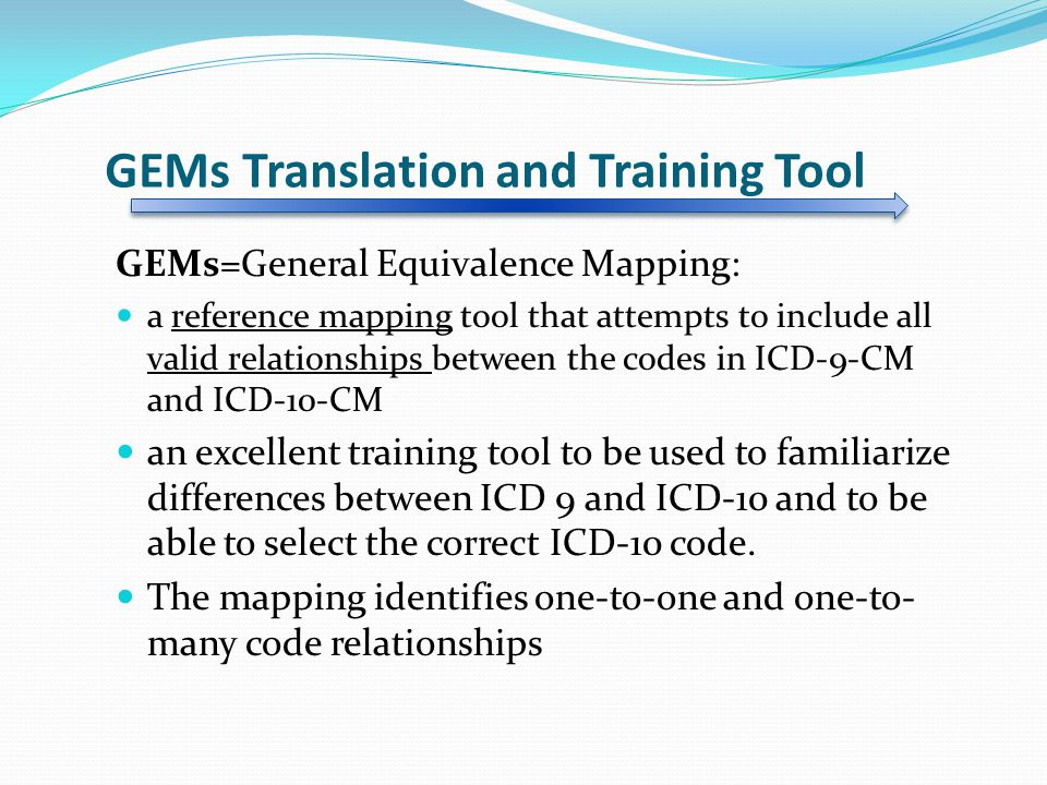 GEMs Translation and Training Tool