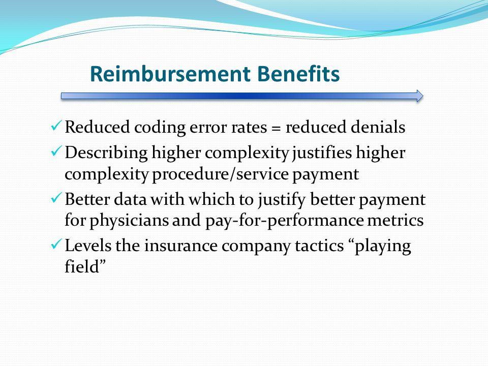 Reimbursement Benefits