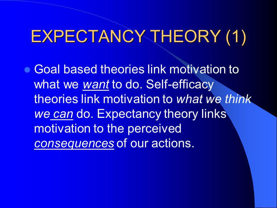 EXPECTANCY THEORY (1)
