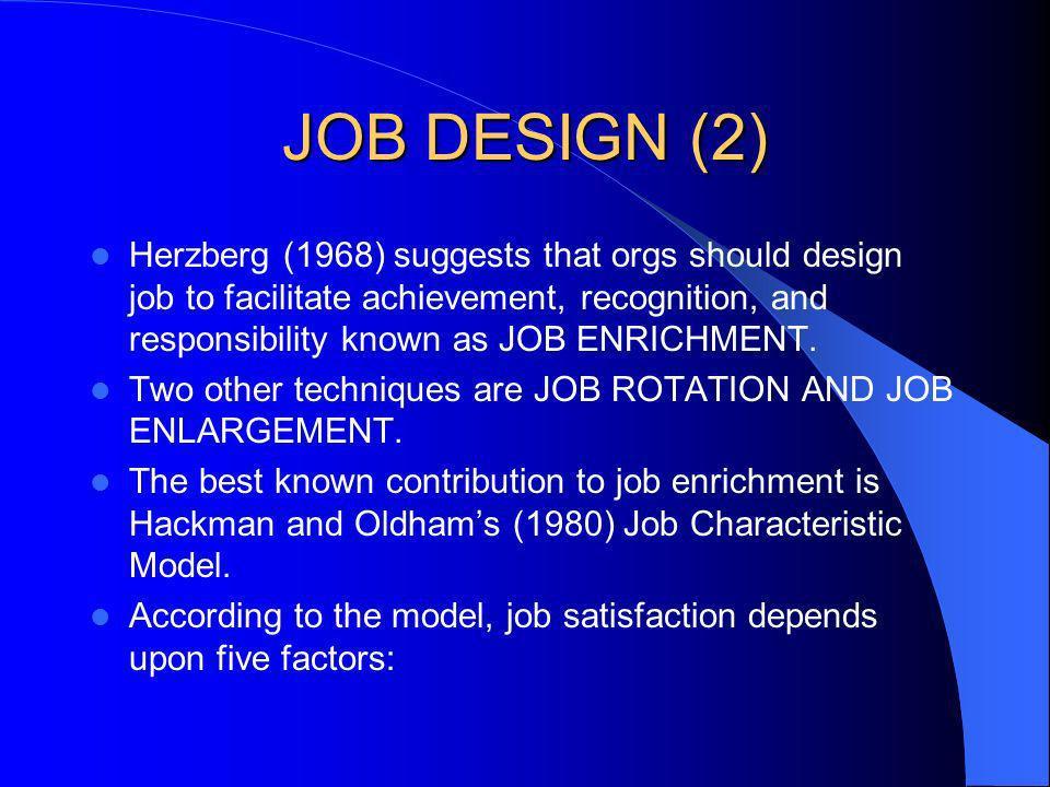JOB DESIGN (2)