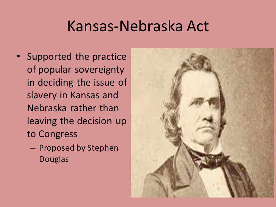 Kansas-Nebraska Act