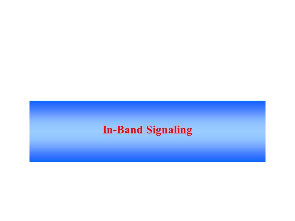In-Band Signaling