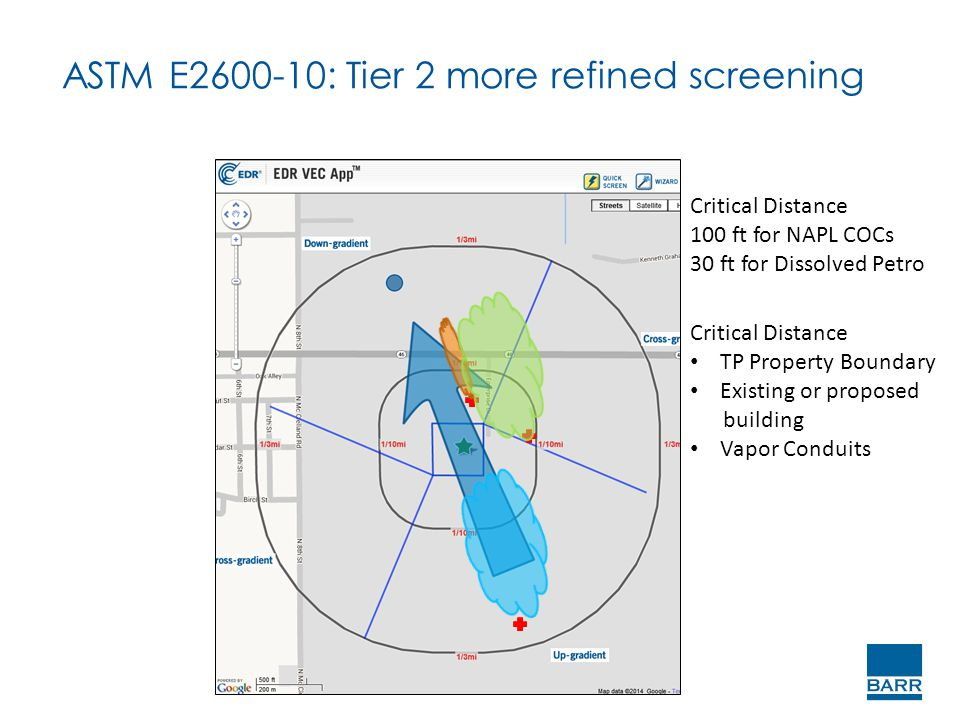 ASTM E2600-10: Tier 2 more refined screening