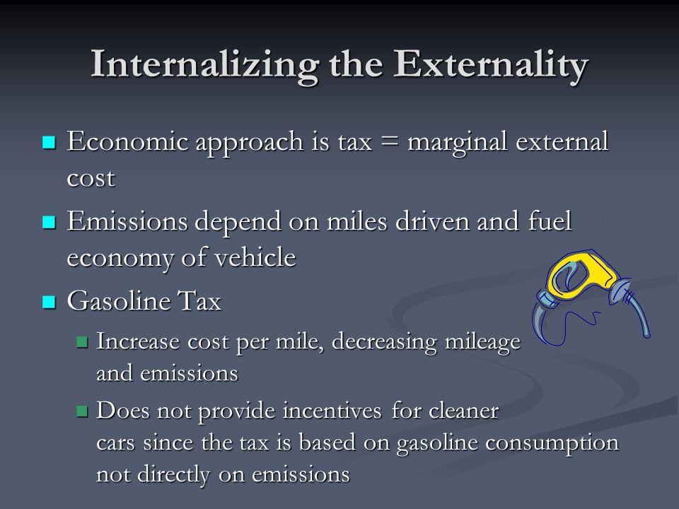 Internalizing the Externality