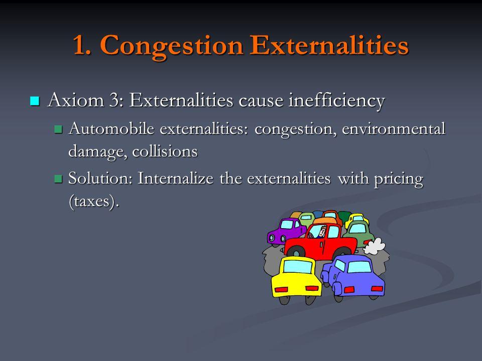 1. Congestion Externalities
