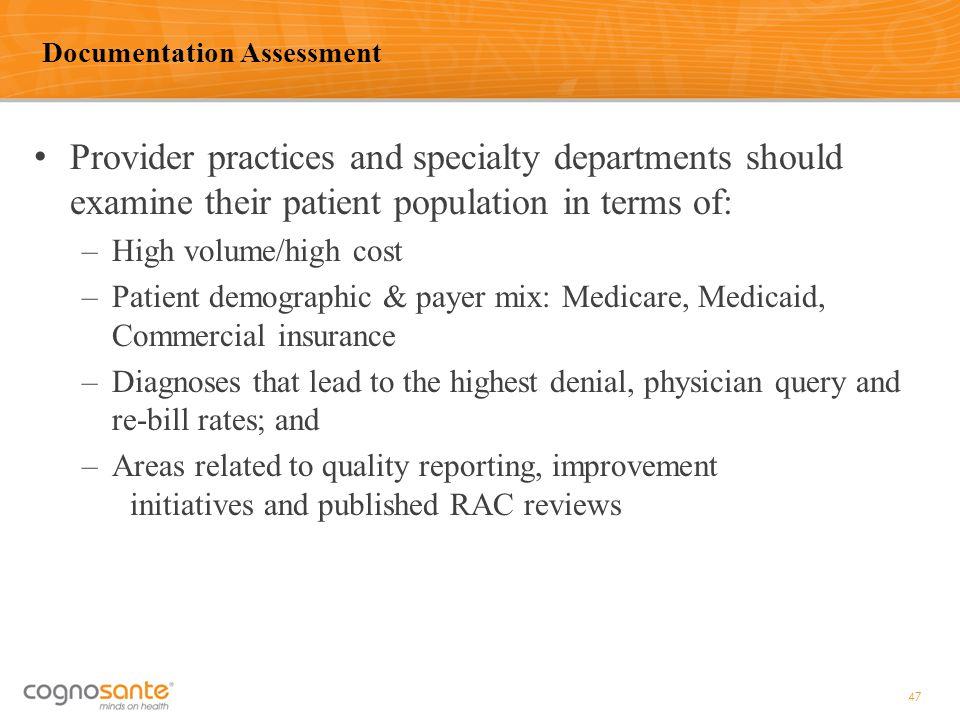 Documentation Assessment