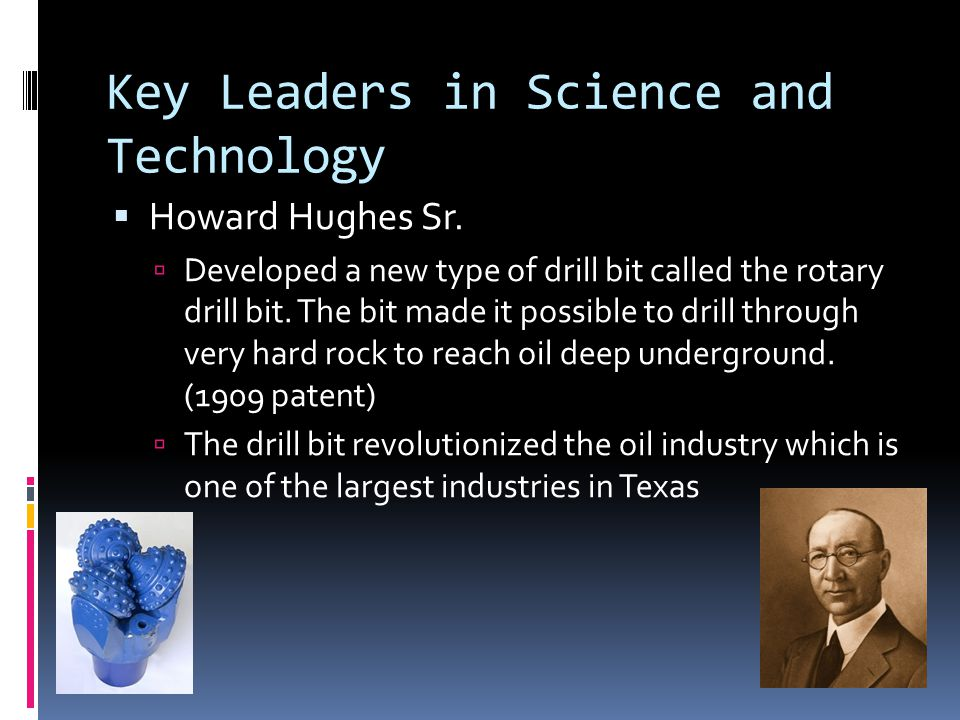 Key Leaders in Science and Technology