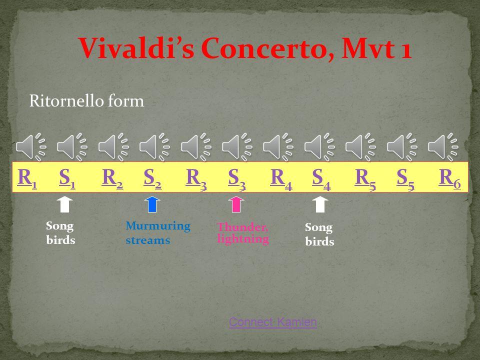 Vivaldi's Concerto, Mvt 1