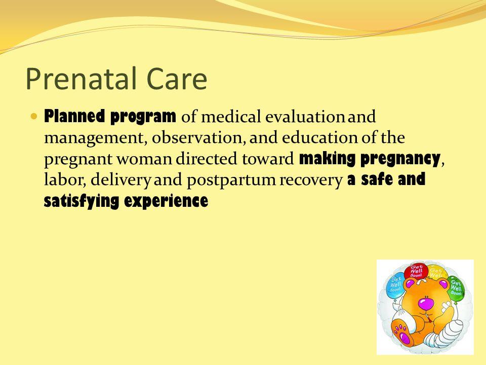 Prenatal Care