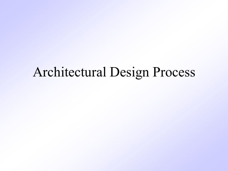 Chapter 10 Architectural Design ppt video online download