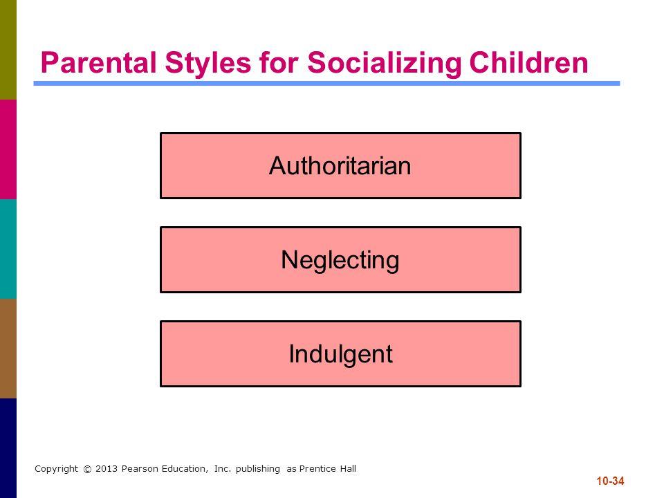 Parental Styles for Socializing Children