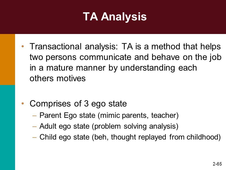 TA Analysis