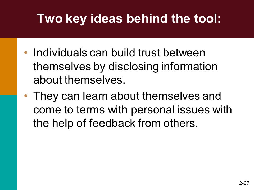 Two key ideas behind the tool: