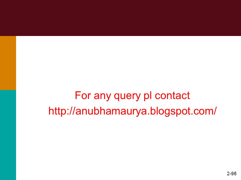 For any query pl contact