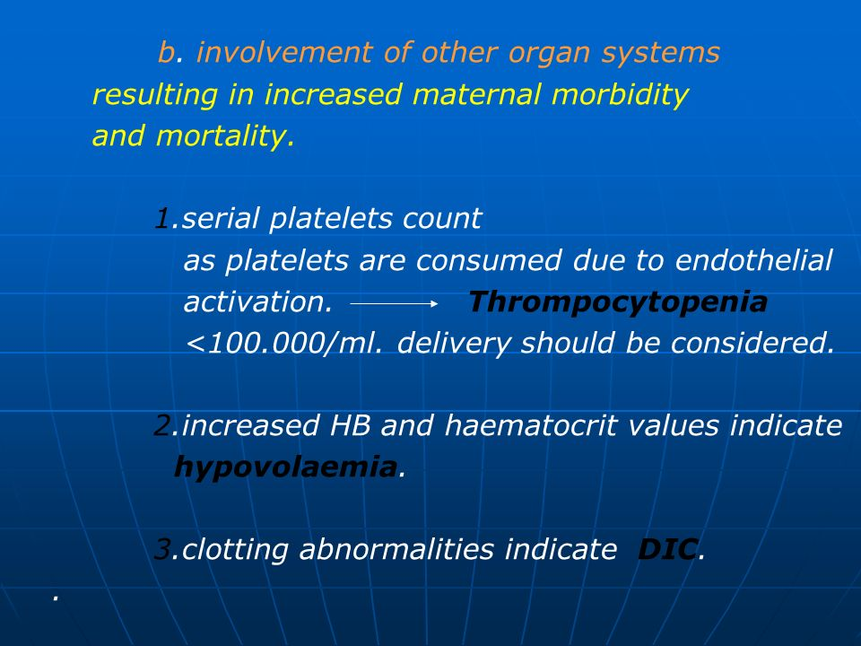 b. involvement of other organ systems