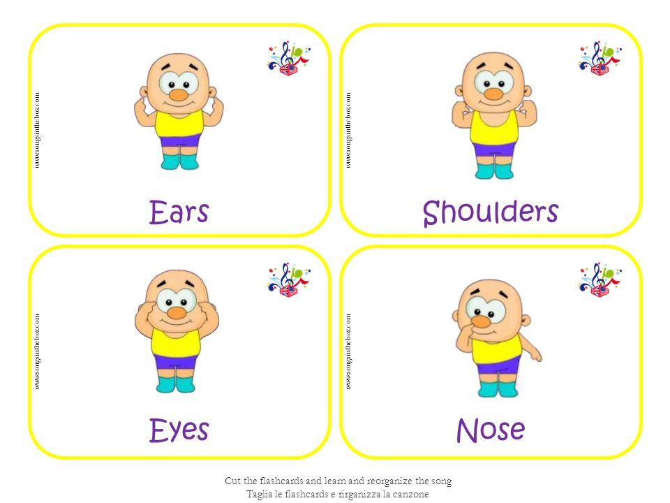 Ears Shoulders Eyes Nose