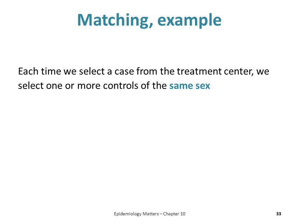 Epidemiology Matters – Chapter 10