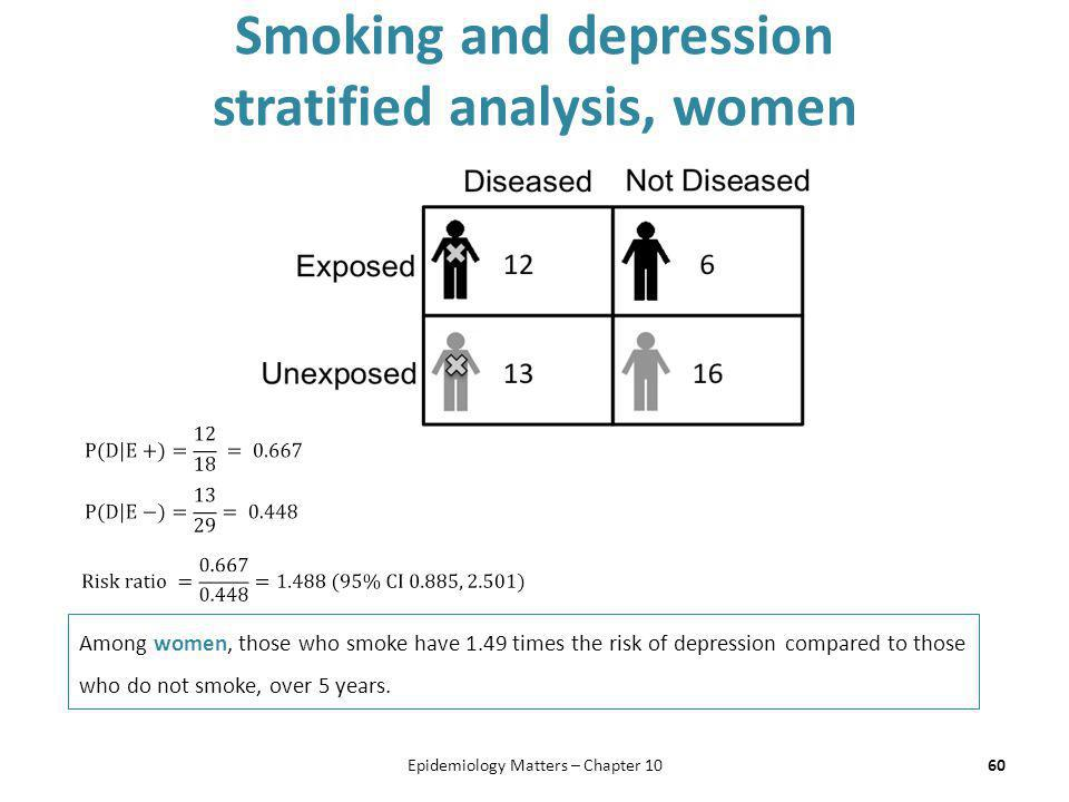 an analysis of the depression in women Aged women, was now seen as a huge and broad public health issue  meta- analysis of patients tested during depression and during.