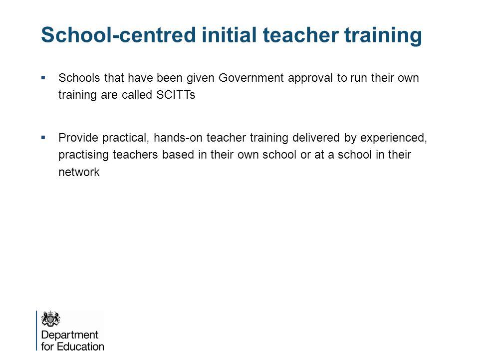 School-centred initial teacher training