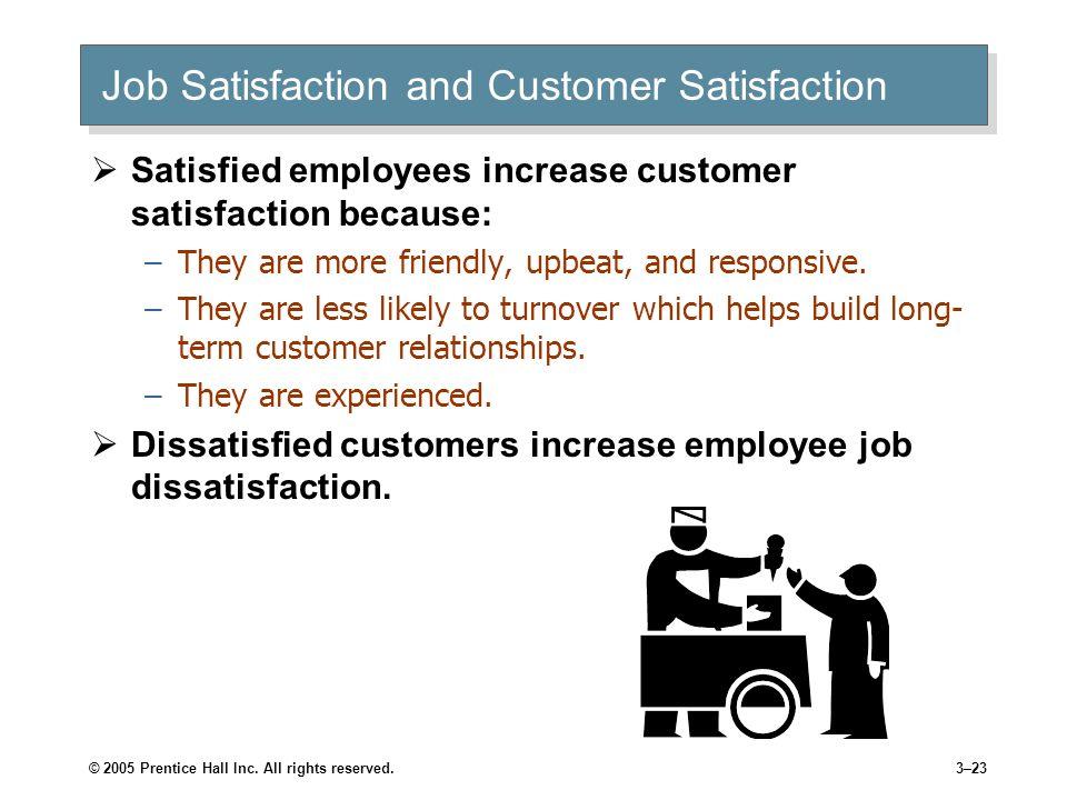 Job Satisfaction and Customer Satisfaction