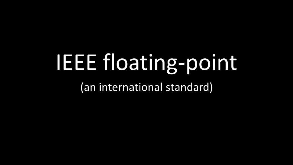 (an international standard)