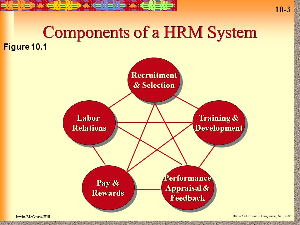 Components of a HRM System