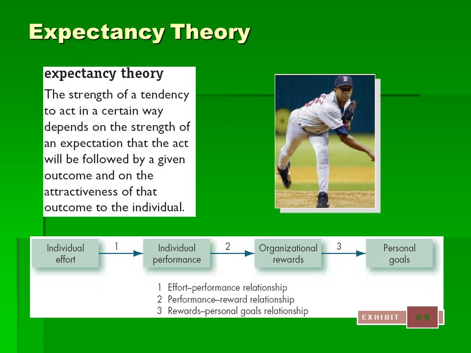 Expectancy Theory 6-8 E X H I B I T