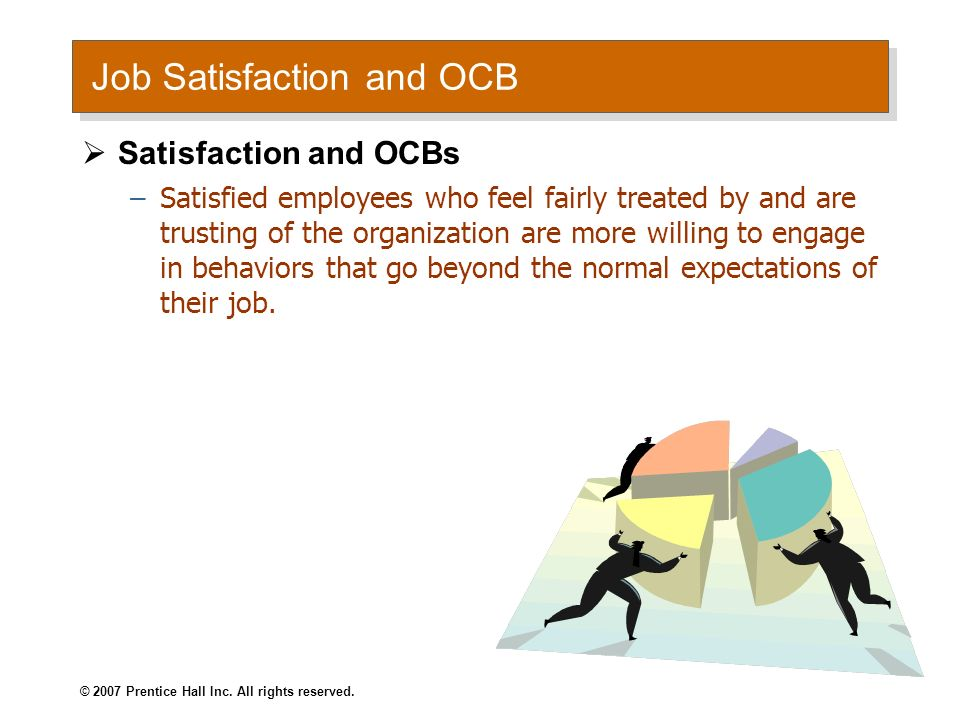 Job Satisfaction and OCB