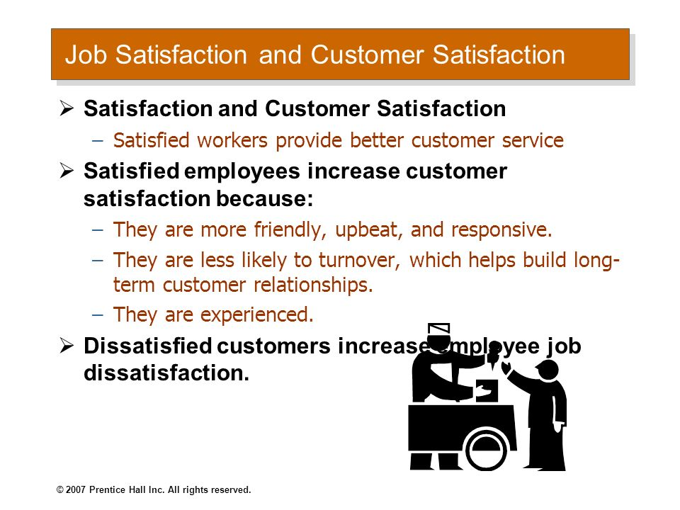 Job Satisfaction and Customer Satisfaction