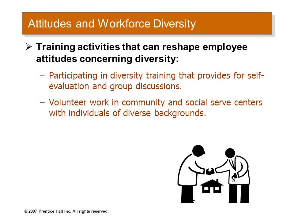 Attitudes and Workforce Diversity