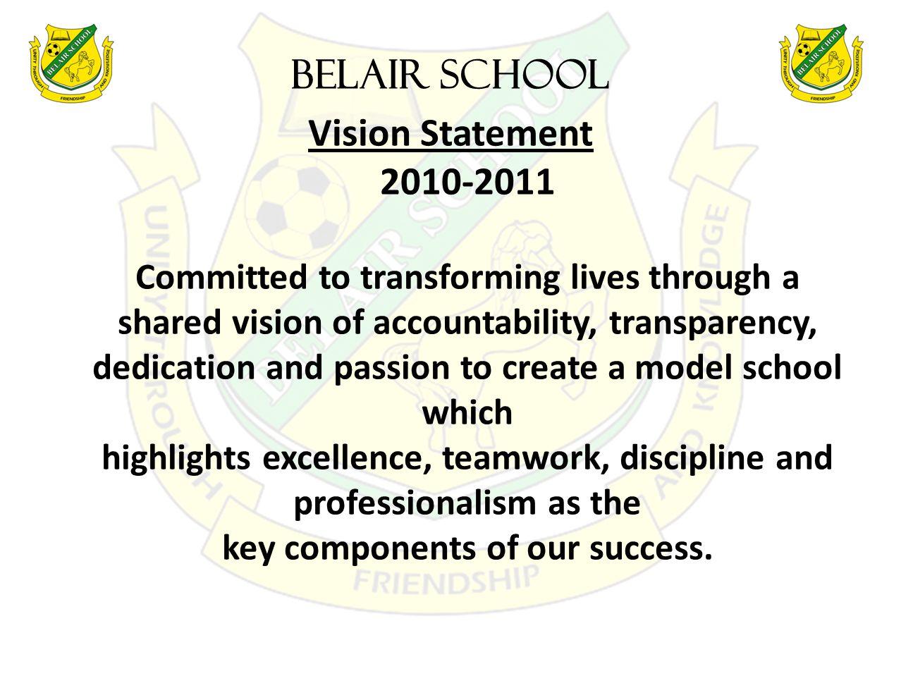 BELAIR SCHOOL