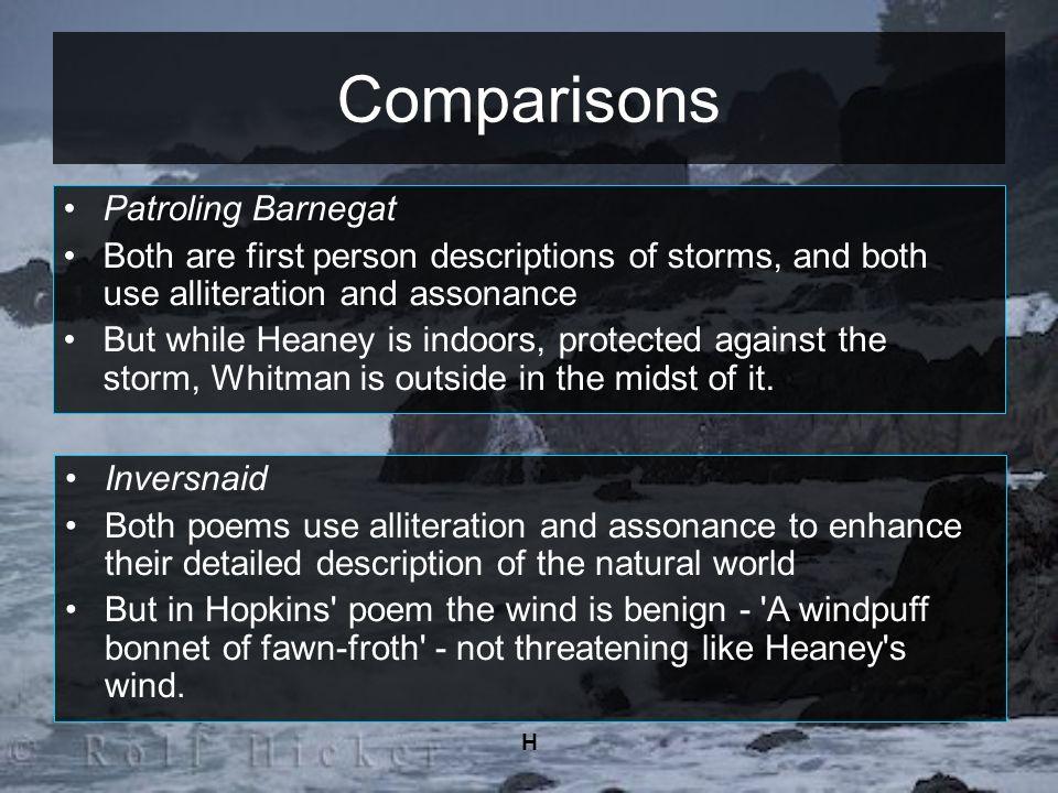 Comparisons Patroling Barnegat