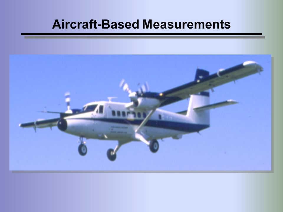 Aircraft-Based Measurements