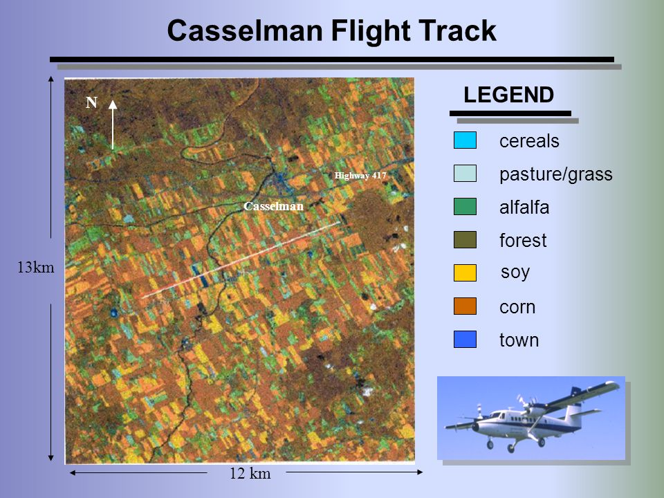 Casselman Flight Track